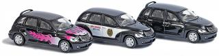 1611 Set 3 auta Chrysler PT-Cruiser